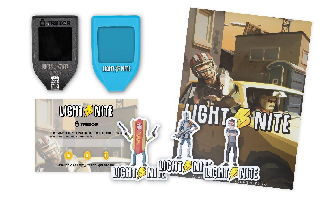 Trezor and Lightnite together for a special edition