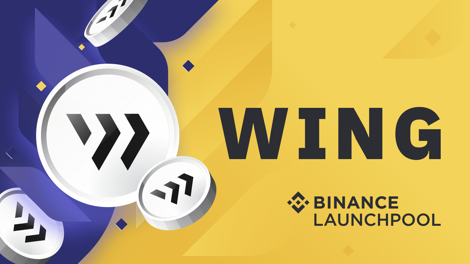 Binance Launchpool launches Wing project