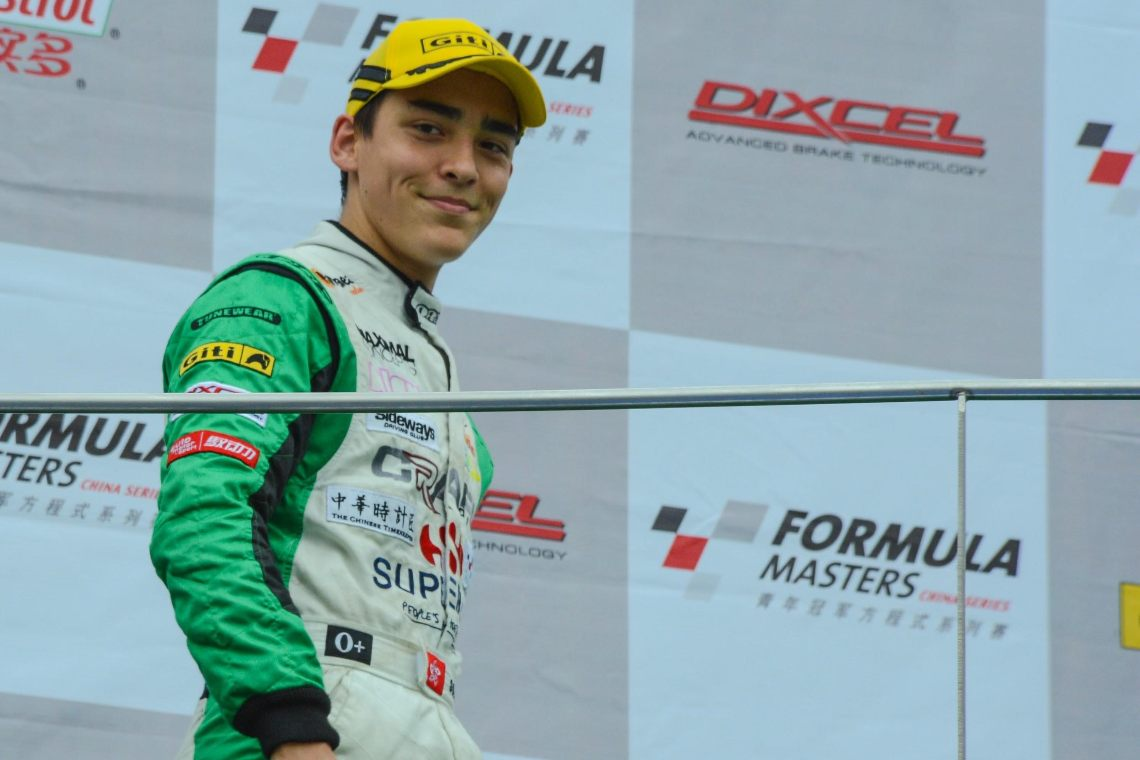 Formula 3 races with Animoca Brands
