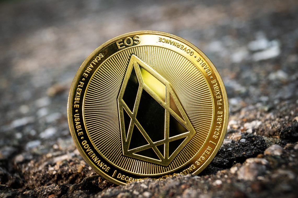 The EOS smart contract with twice as many transactions as Ethereum