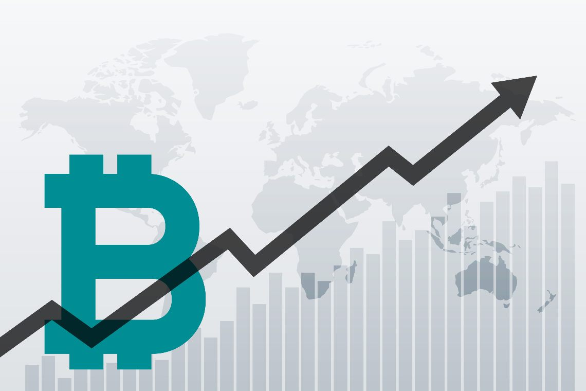 The price of Bitcoin rises and the comparison with gold is back