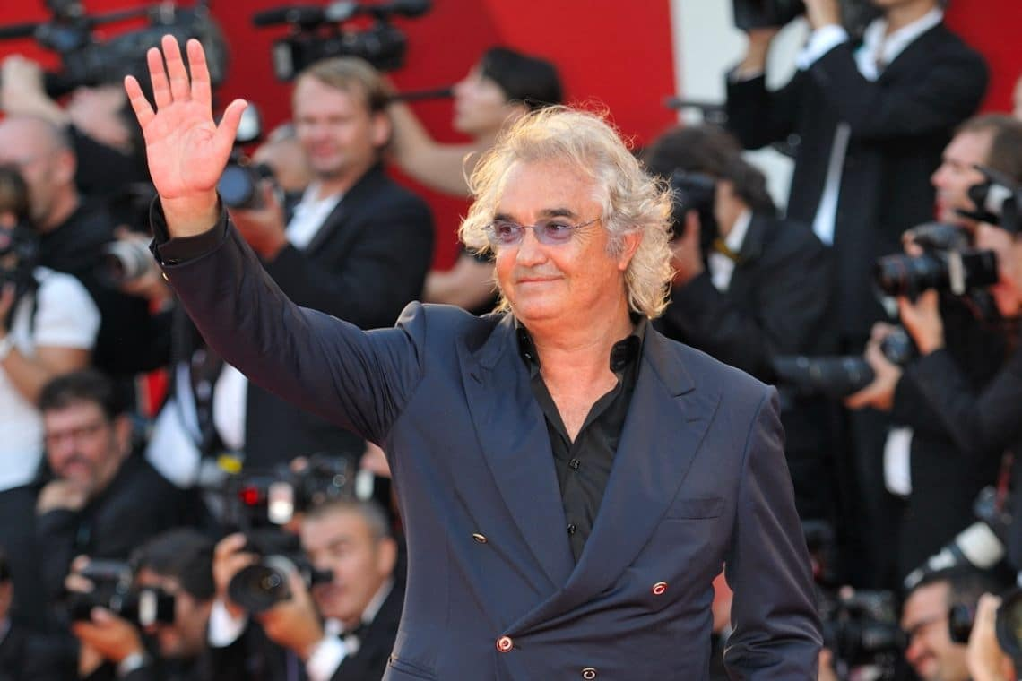 Flavio Briatore rich with Bitcoin Up, another scam