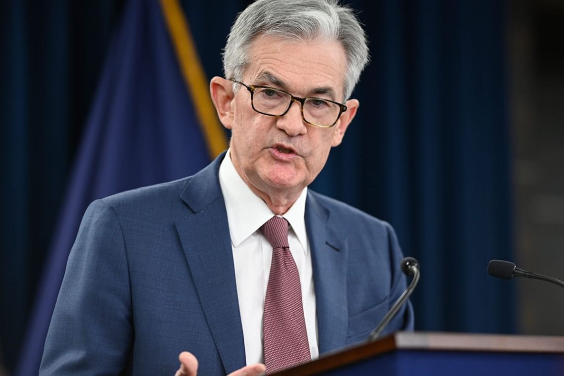 The enormous influence of Jerome Powell (FED) on bitcoin