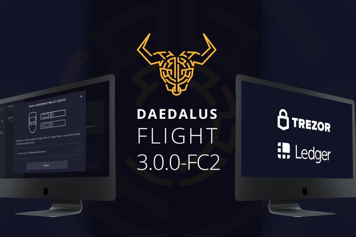 Cardano: an update for the Daedalus Flight wallet