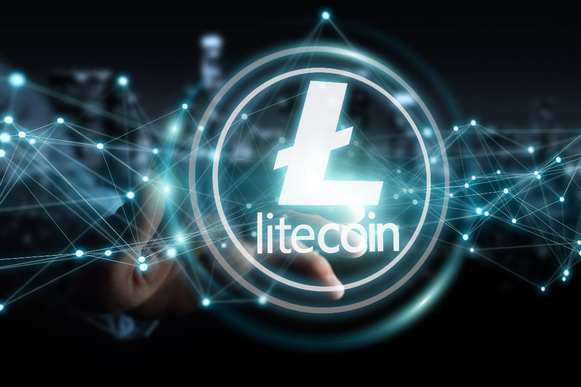 The Cardano blockchain could interact with Litecoin