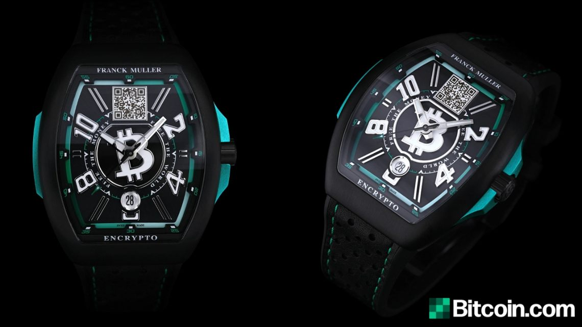 Bitcoin Cash launches a luxury watch with Franck Muller