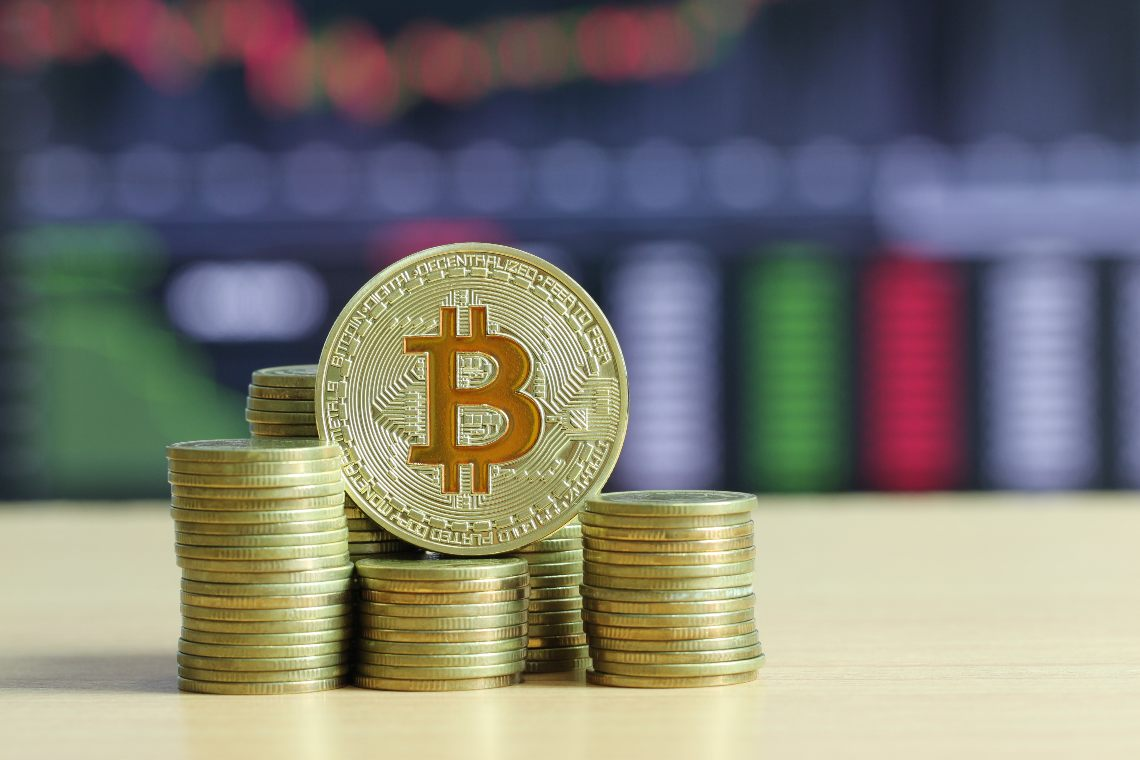 Bitcoin: prices rise by 1.5%.