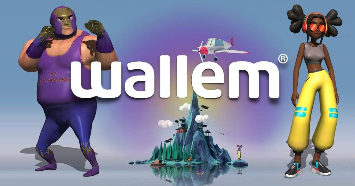 Have FUN with WALLEM and join unique EVENTS in Augmented Reality