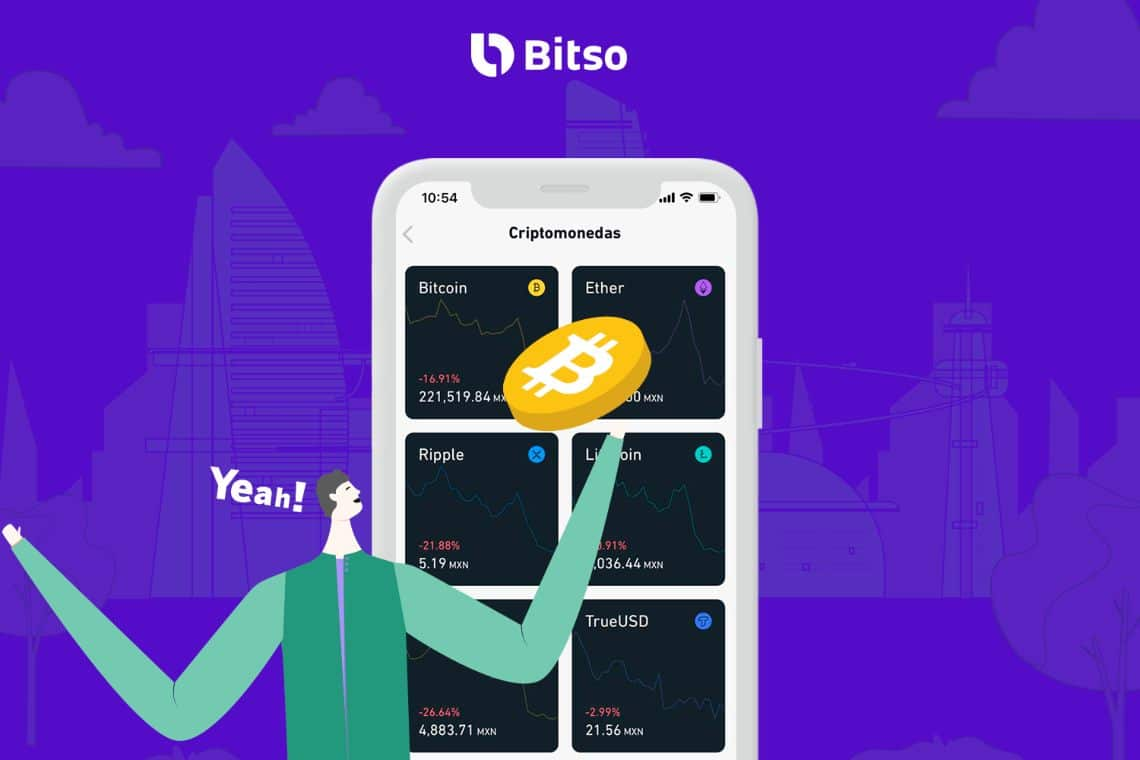 62 million dollar investment in the Bitso exchange