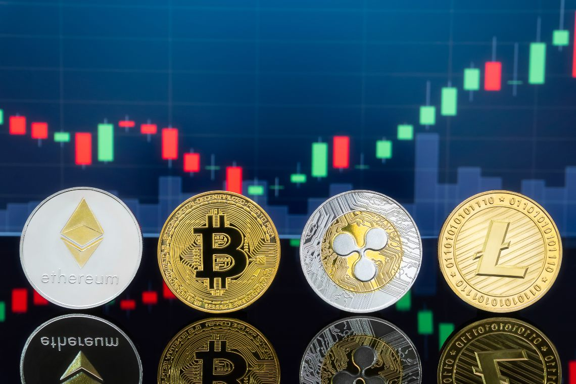 Decreasing volumes for the cryptocurrency market