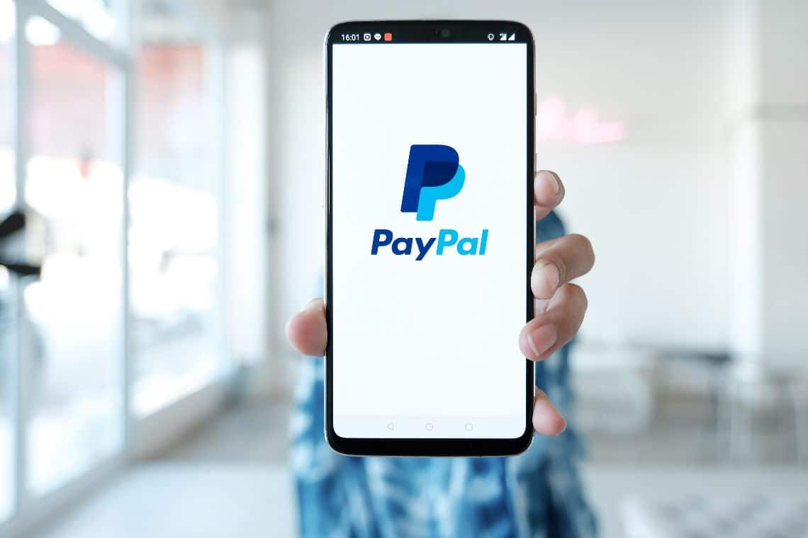 PayPal stock, vertical performance in 2020
