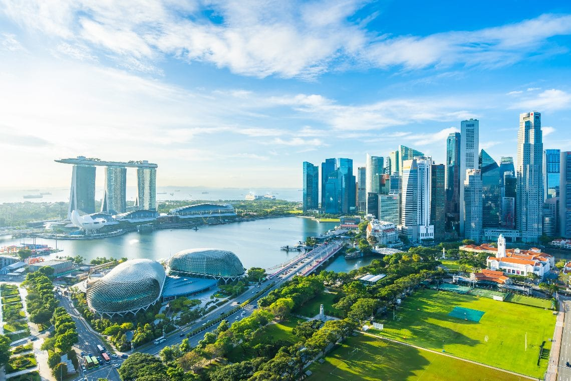 Singapore government invests in blockchain
