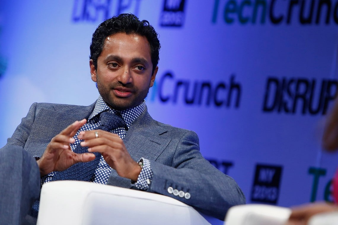 Bitcoiner Chamath Palihapitiya running for governor of California