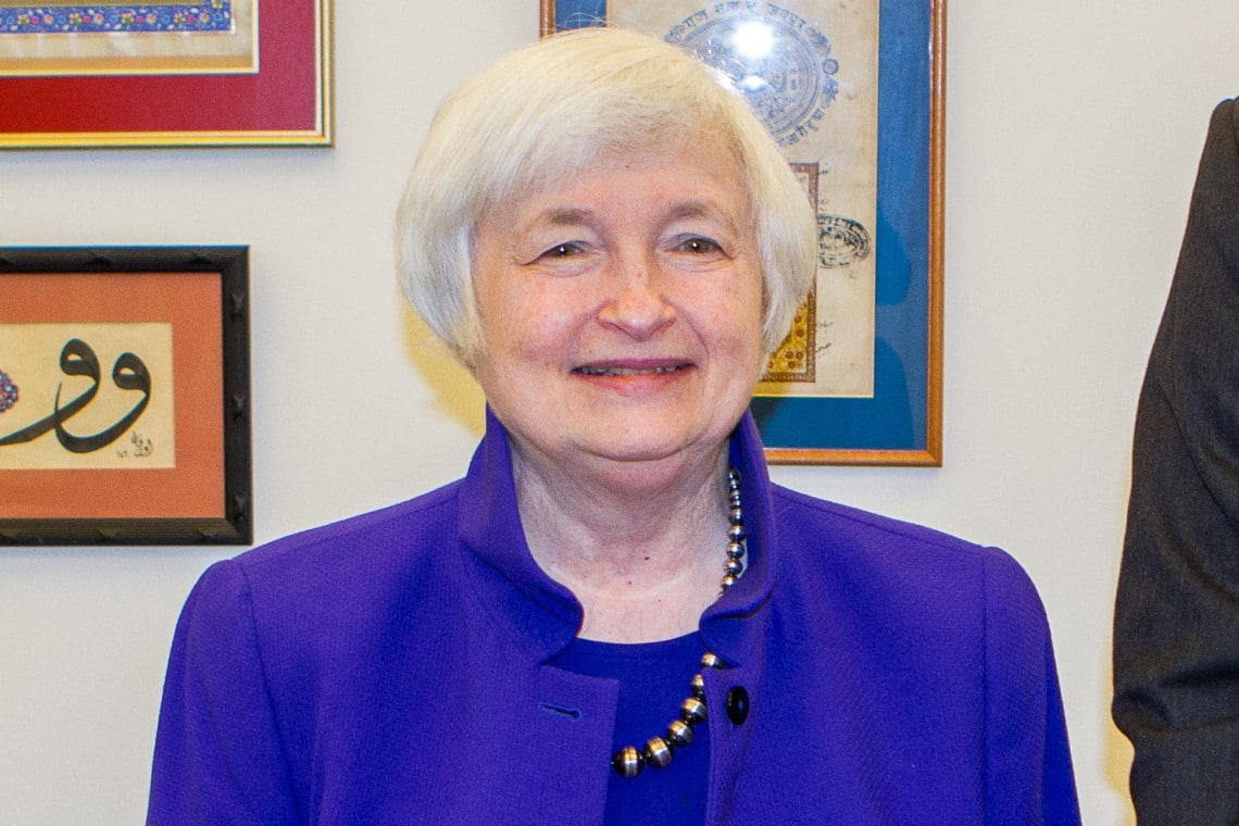 "Janet Yellen: ""encourage the use of cryptocurrencies"""