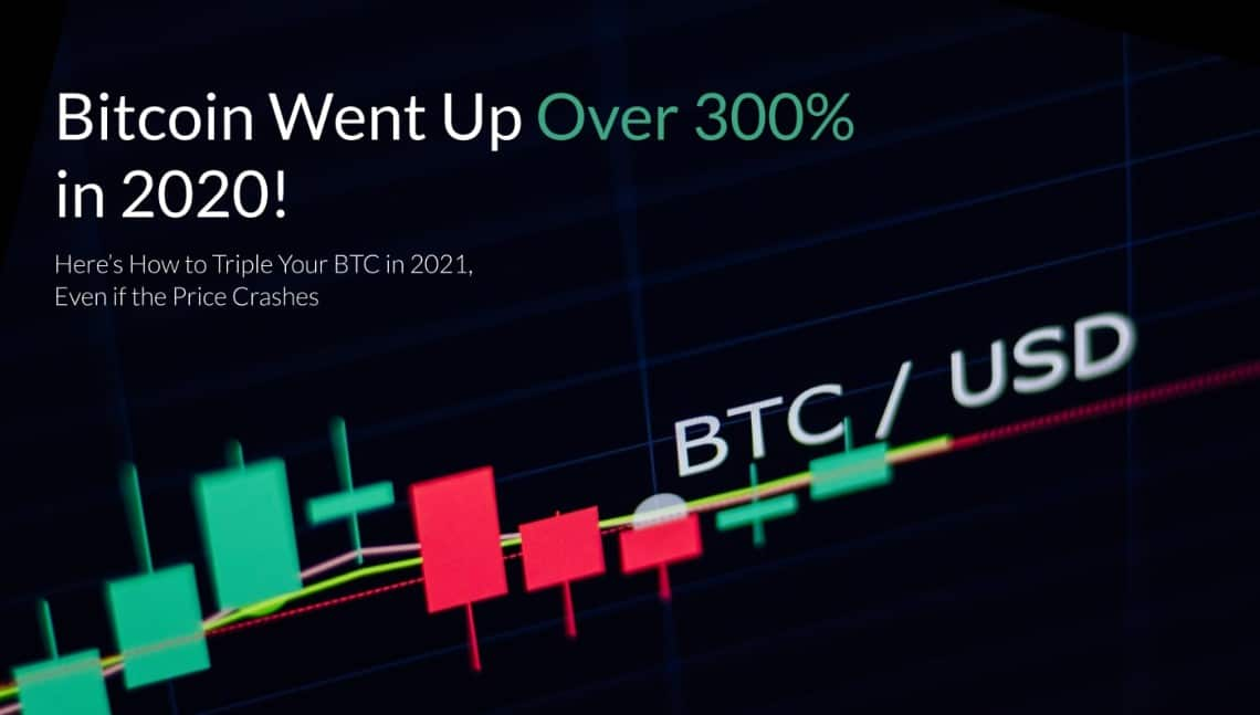 Bitcoin Went Up Over 300% in 2020!