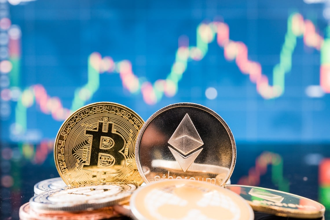 Ethereum: volumes exceed those of Bitcoin