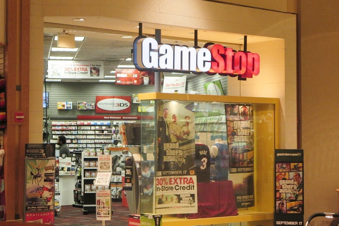 Gamestop stocks more volatile than Bitcoin