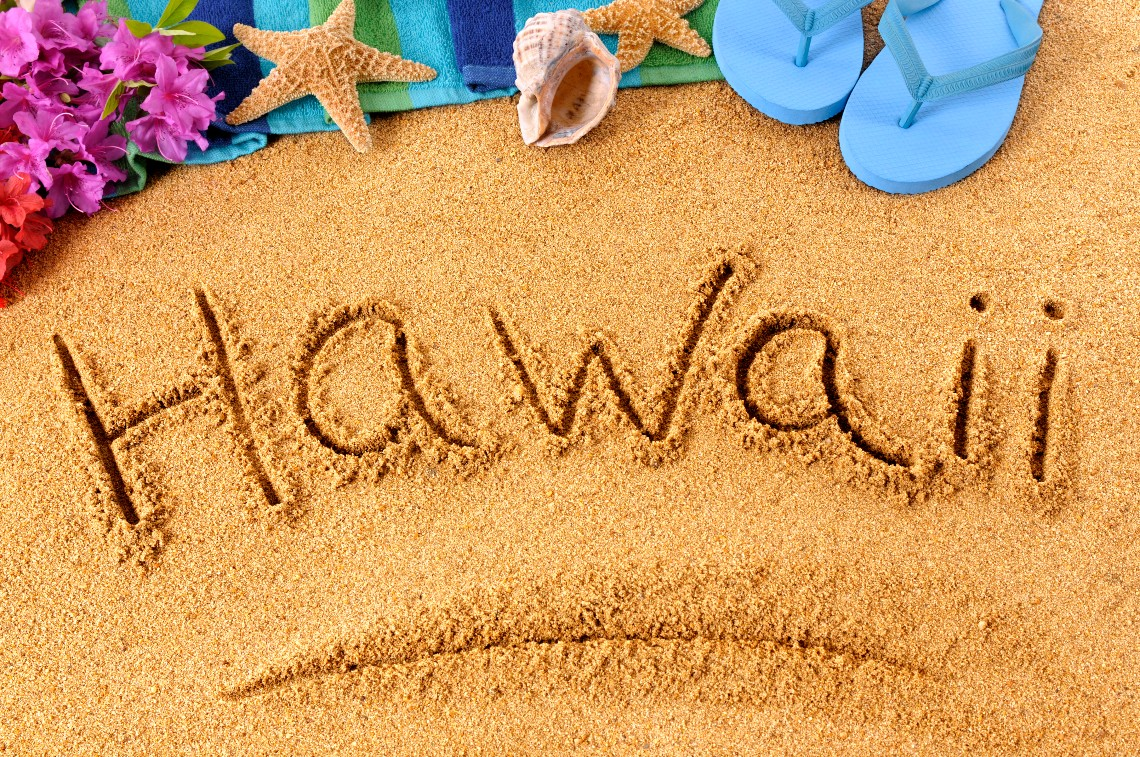 Hawaii and Bitcoin, searches on Google Trends
