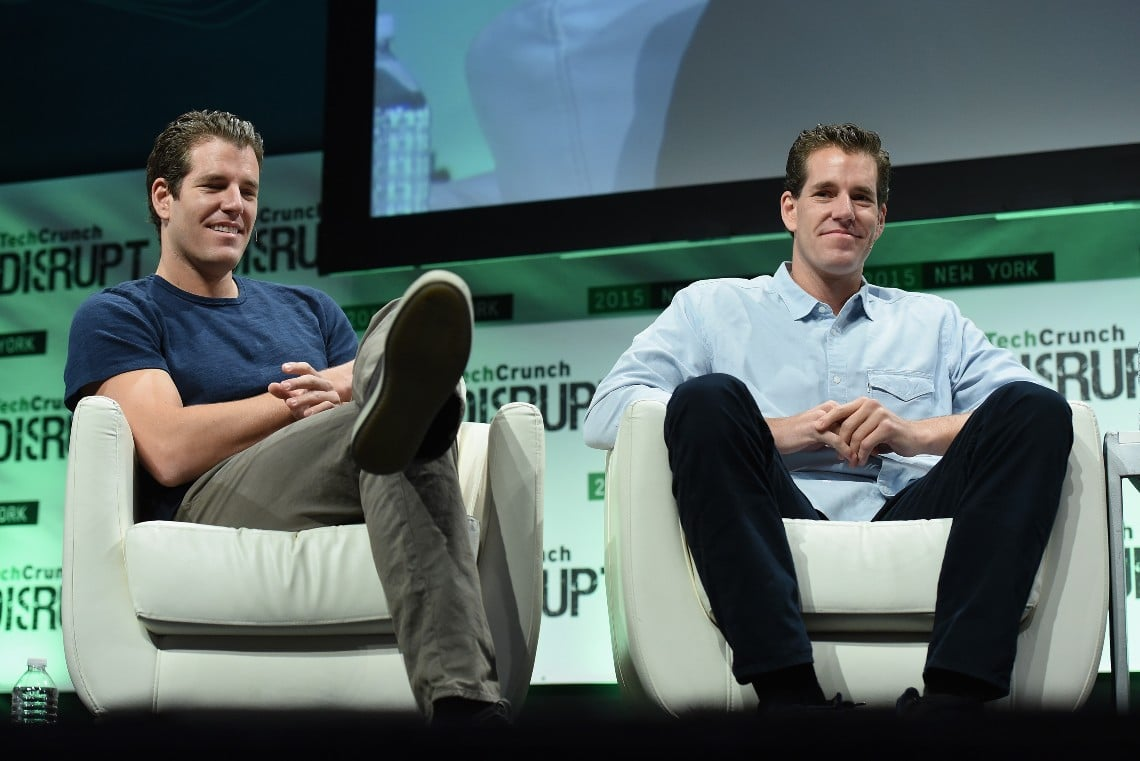 Cryptocurrency billionaires: the richest are the Winklevoss twins