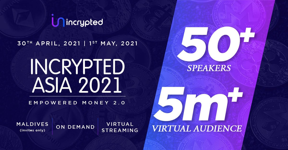 Maldives to host Incrypted 2021 with key stakeholders in the blockchain and crypto realm