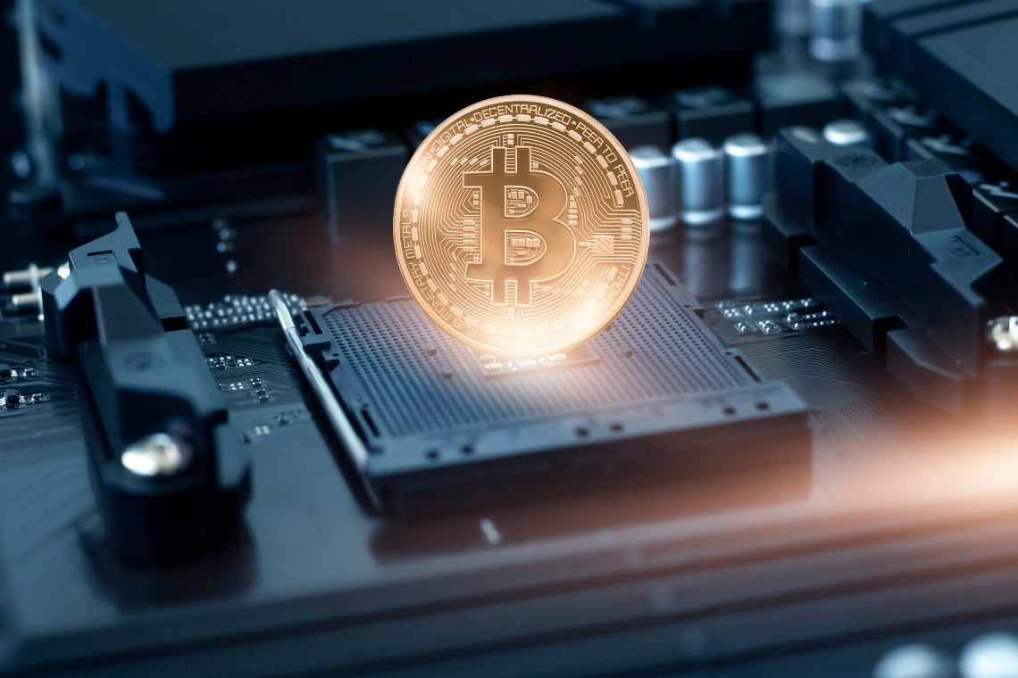 """The Le Iene report """"Inside the Bitcoin mines""""."""