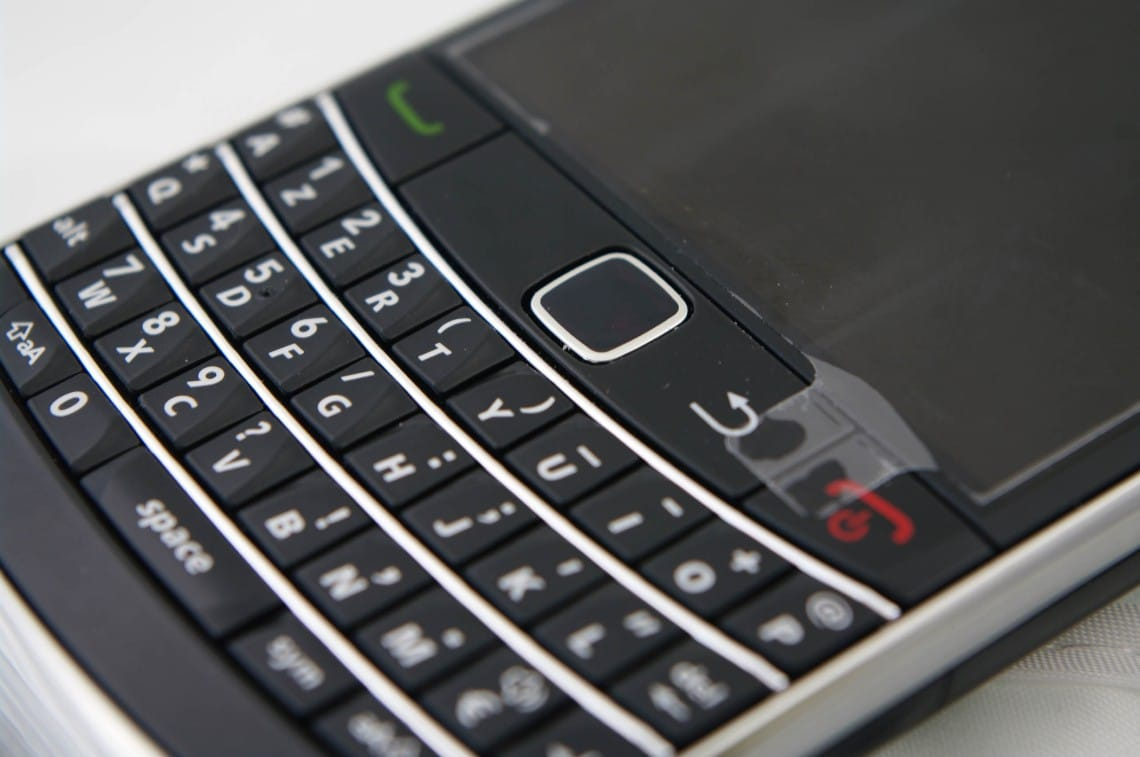 The BlackBerry stock crashes