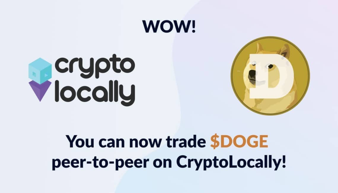 CryptoLocally, Decentralised P2P exchange list DOGE and SOL after community votes