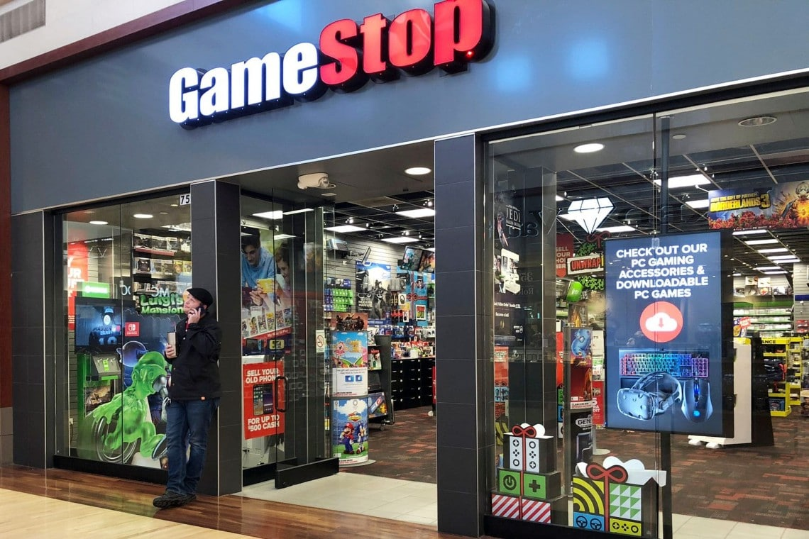 GameStop stock rises again