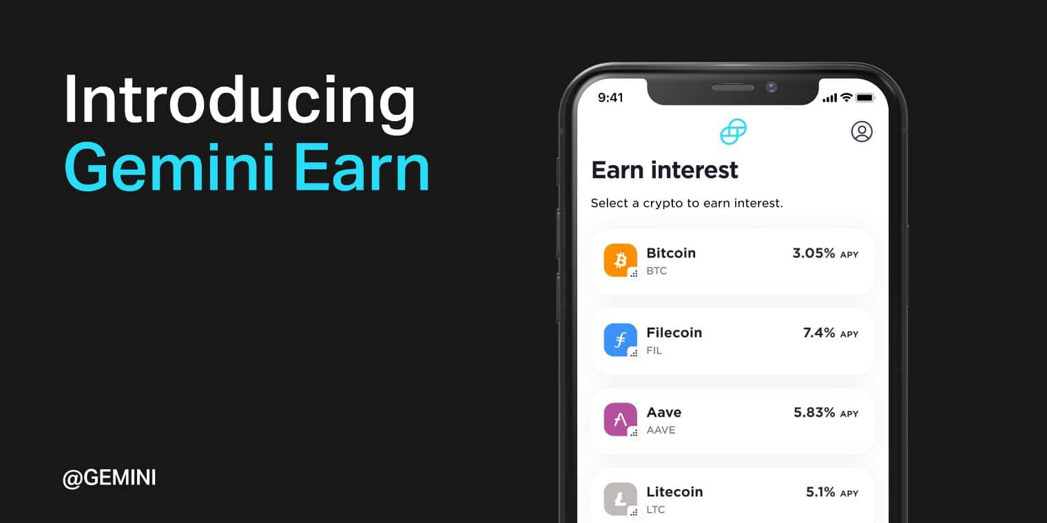 Gemini launches 'Earn' program