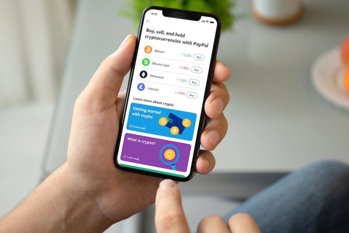 PayPal: cryptocurrency payments by end of March
