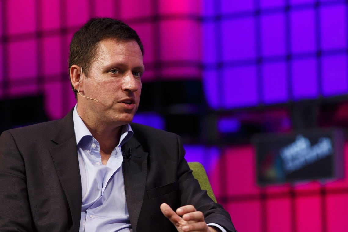 Peter Thiel bullish on Bitcoin