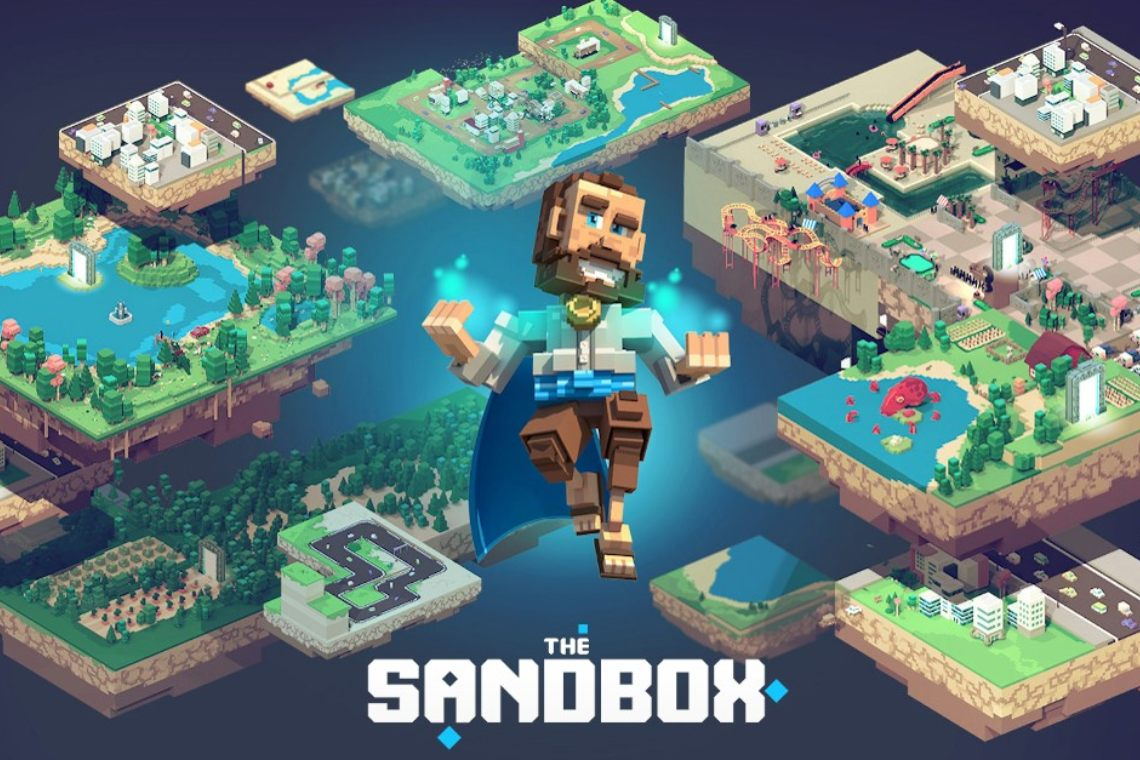 The Sandbox sells LAND on CoinMarketCap