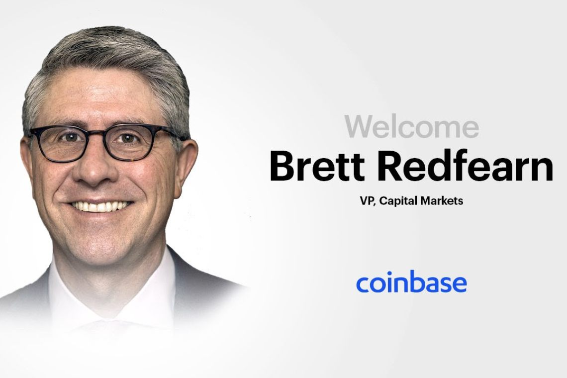 Coinbase, Brett Redfearn arrives from the SEC