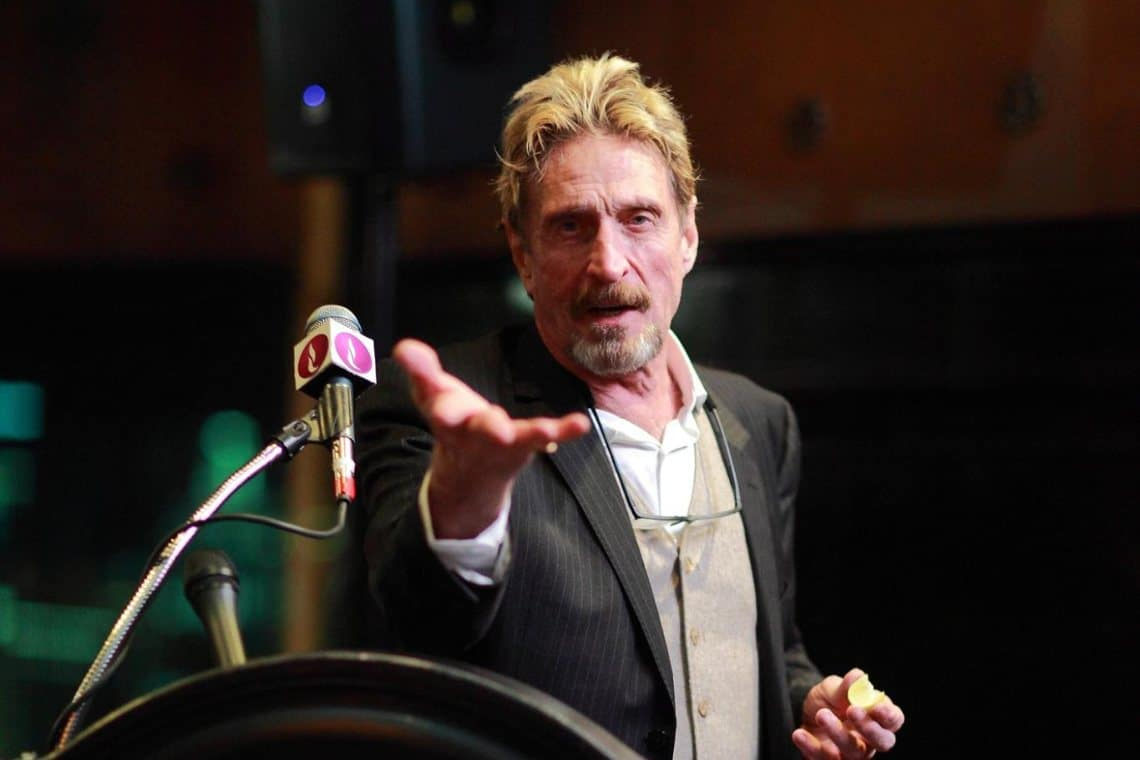 "John McAfee: ""The US government is using me as a scapegoat against crypto"""