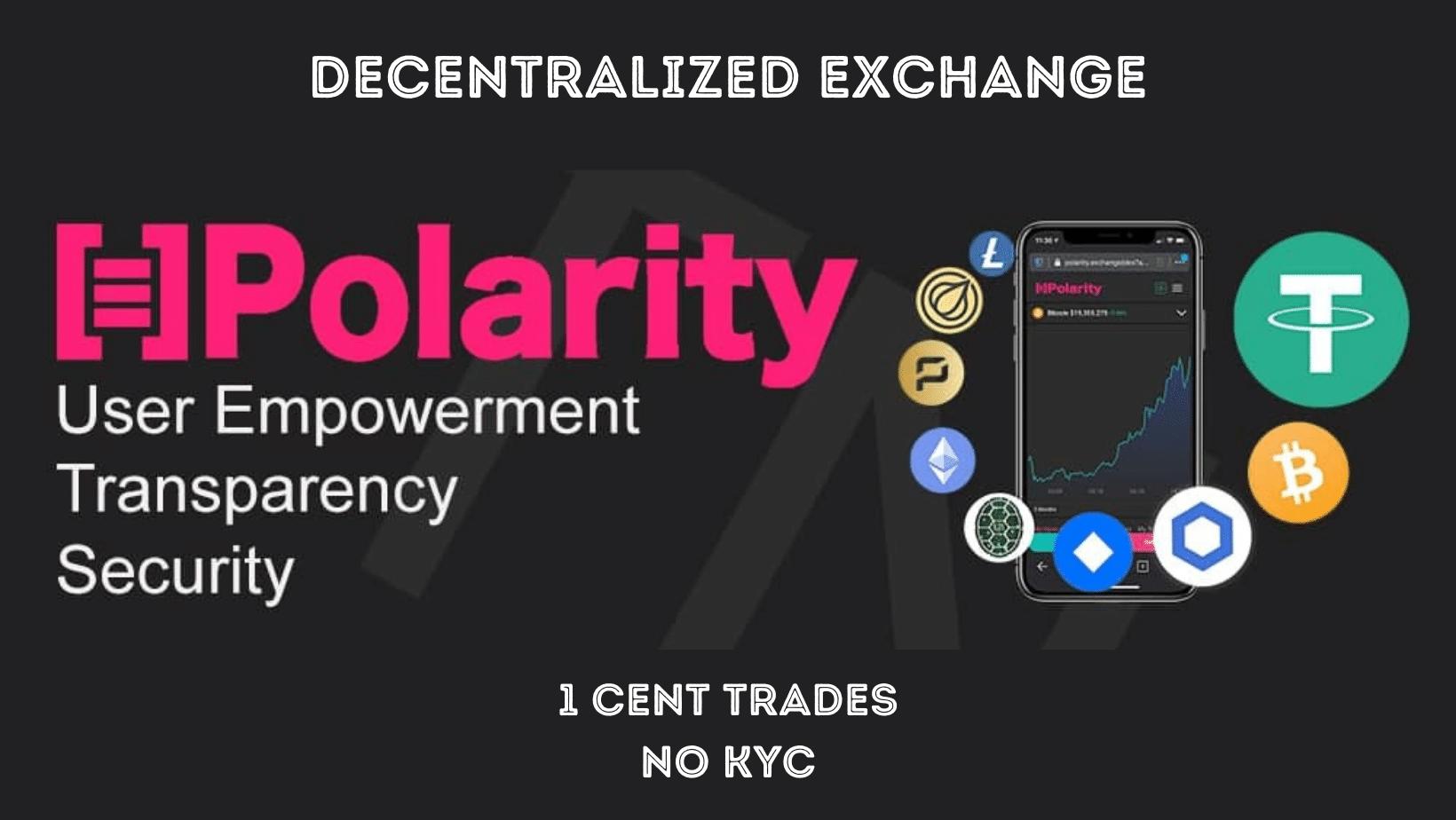 Polarity.Exchange, the DEX with 2FA