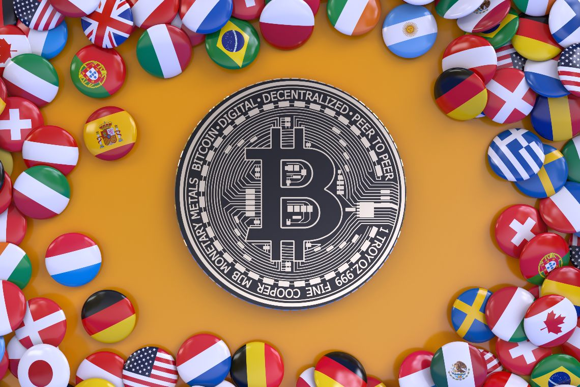 Countries that accept Bitcoin as payments