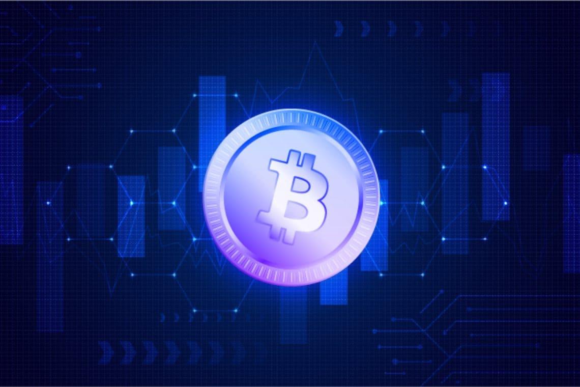 Bitcoin, dominance back below 60%