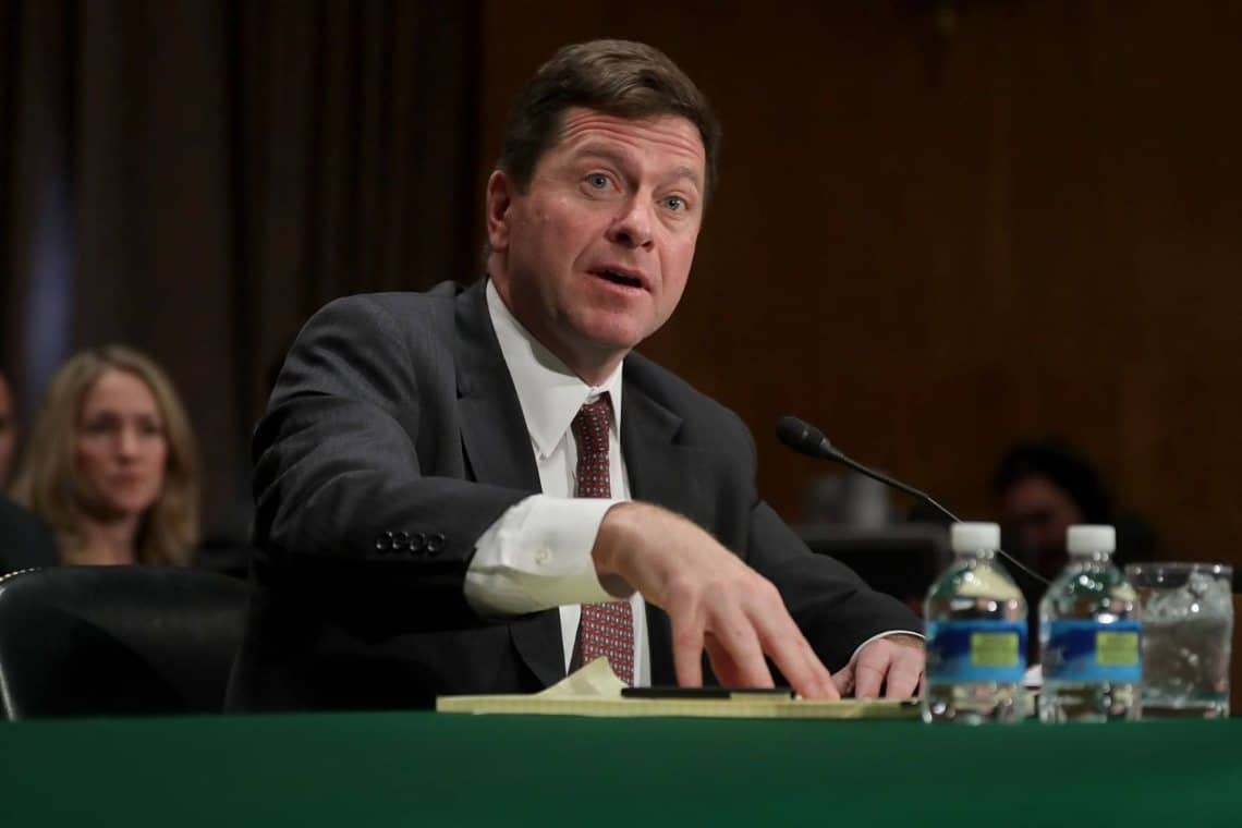 Former SEC chairman Jay Clayton becomes One River advisor