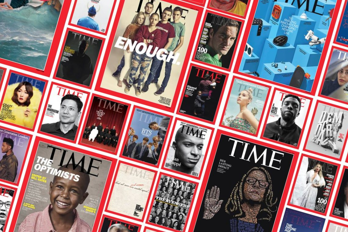 Time magazine puts three covers up for sale as NFTs