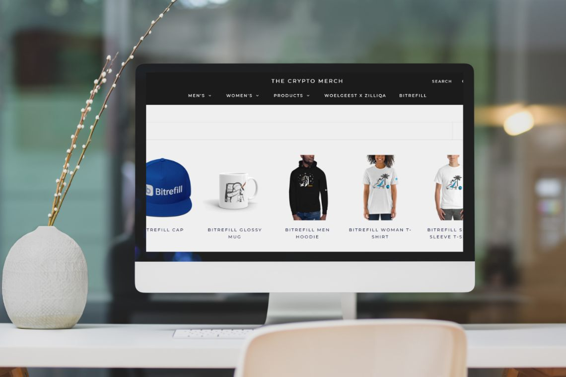 Bitrefill: official merchandise store is here