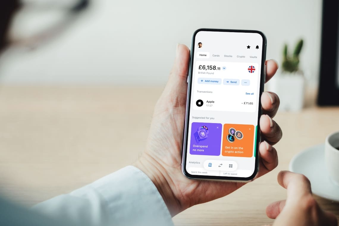 Revolut, latest version of the app released