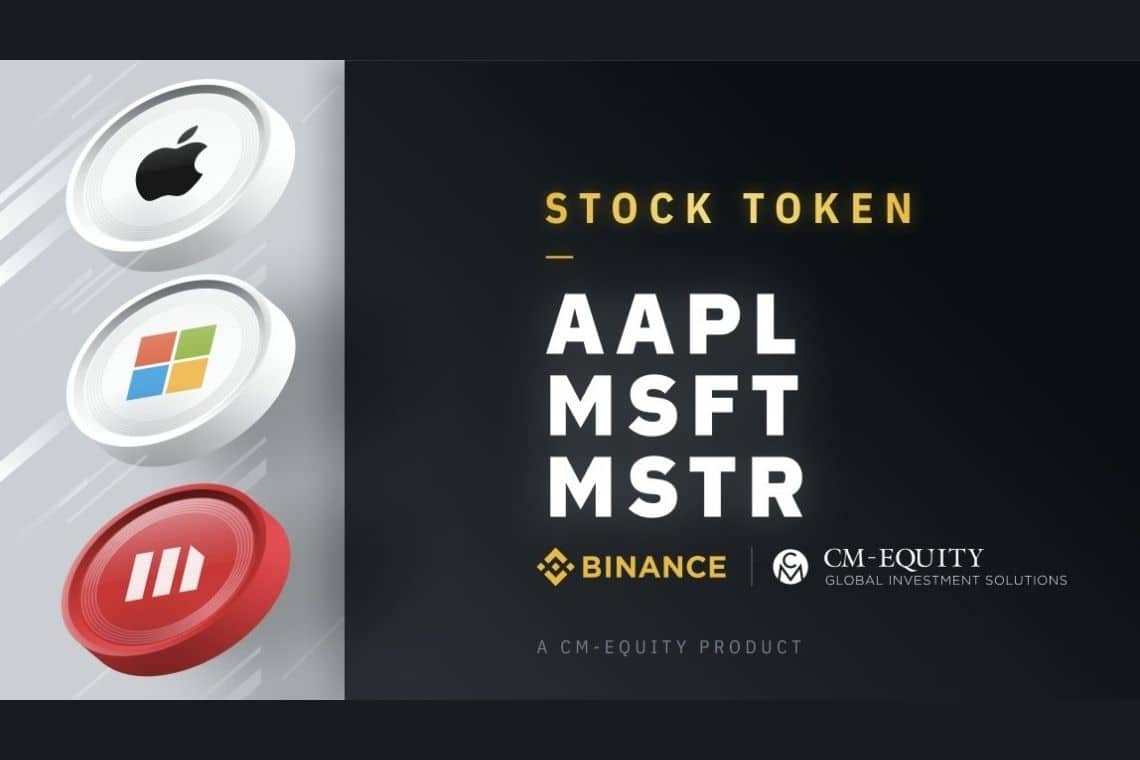 Binance Stock Tokens to include MicroStrategy, Apple and Microsoft