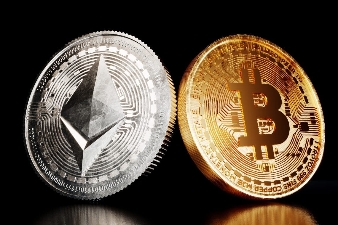 Bitcoin vs Ethereum: ETH wins in 2020 and 2021