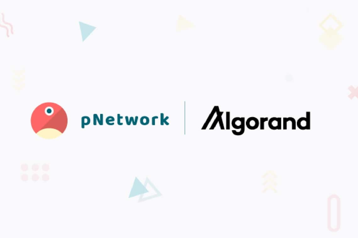 Algorand and pNetwork for a new model of finance