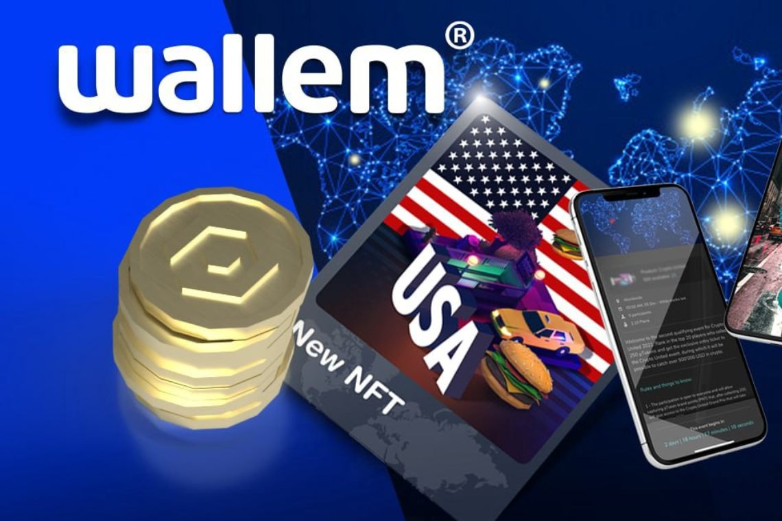 Wallem: new NFTs with rewards based on app usage