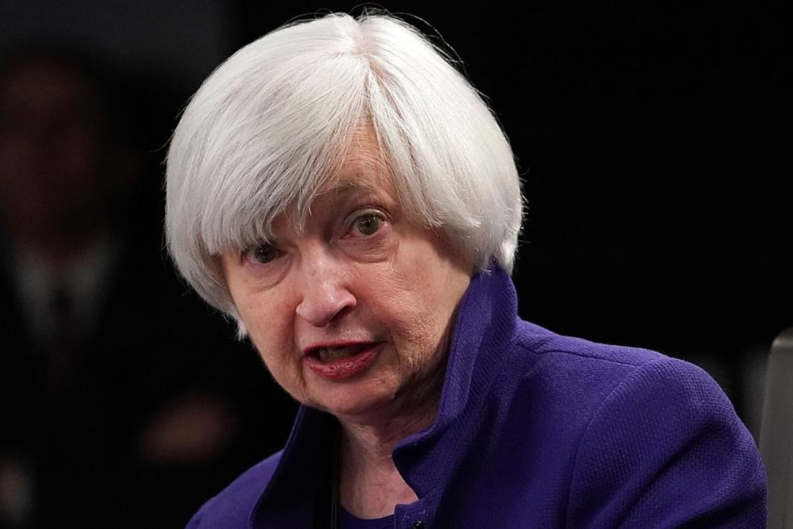 Rising rates, Janet Yellen's words startle bitcoin