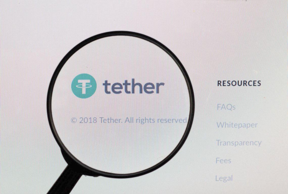 Tether's market capitalization exceeds $60 billion