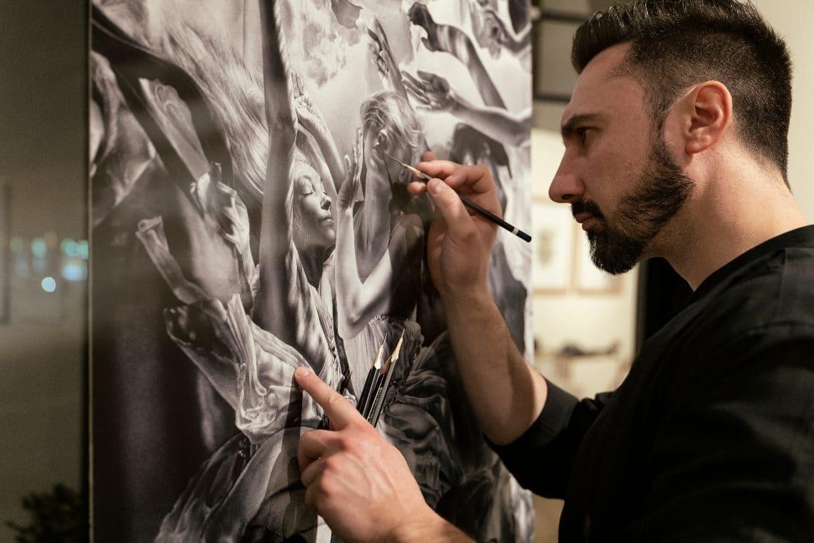 Emanuele Dascanio is among the 100 creators on Binance NFT Marketplace