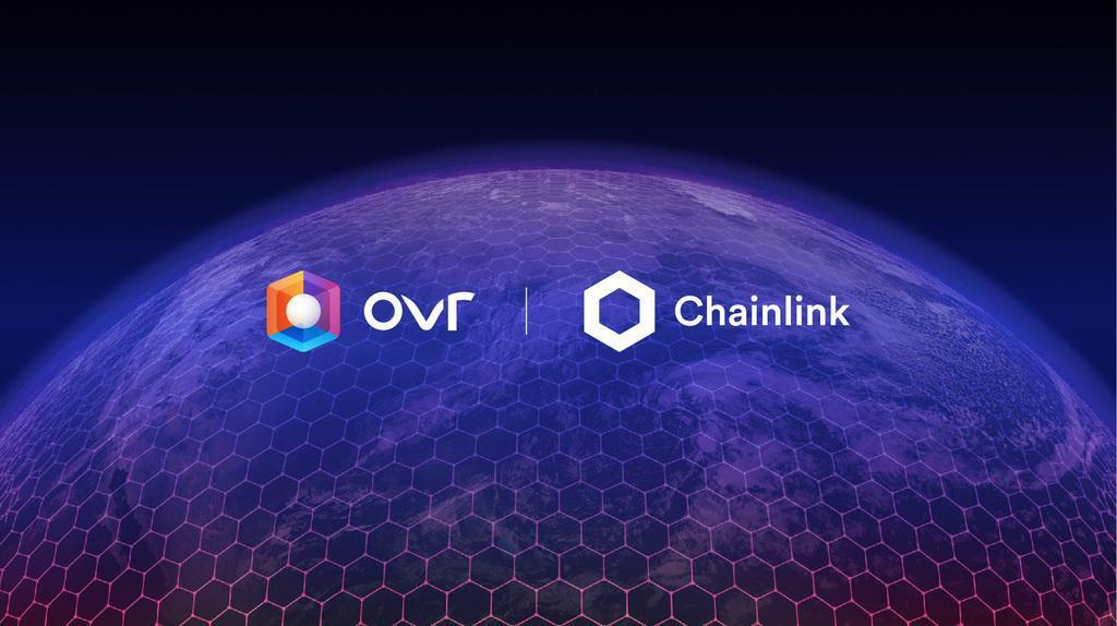 OVR and Chainlink to connect the metaverse to the real world
