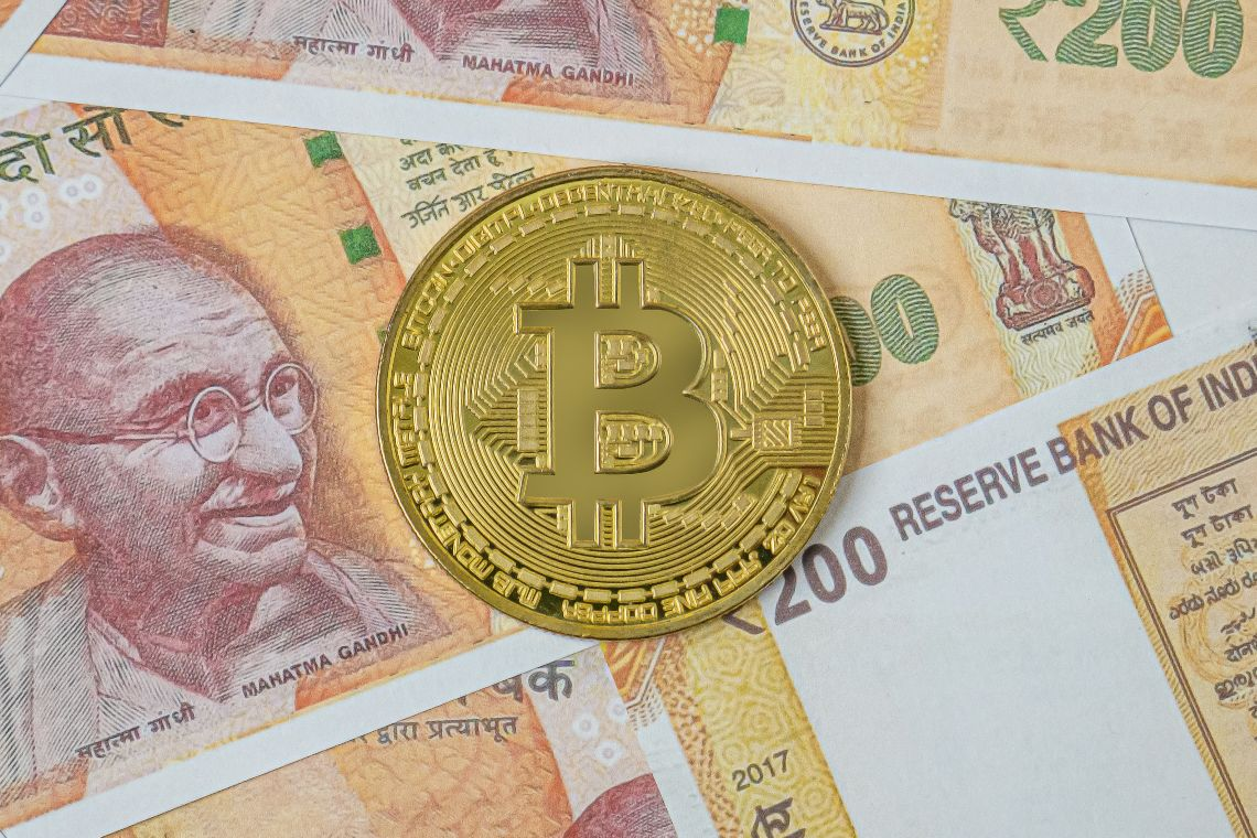 India bitcoin oro